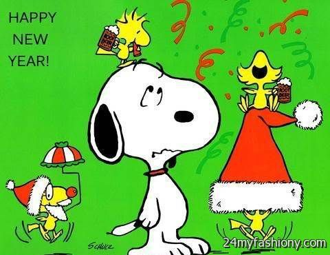 Happy New Year Snoopy Images Looks B2b Fashion
