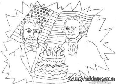 Happy Presidents Day Coloring Pages images 2016-2017 | B2B Fashion