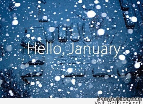 Hello January Wallpaper Images 2016 2017