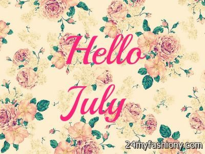 Hello July Birthday Tumblr
