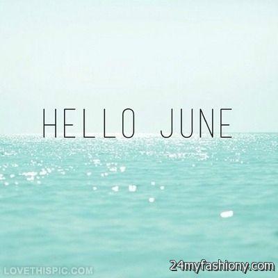 Hello June Tumblr images 2016-2017 | B2B Fashion