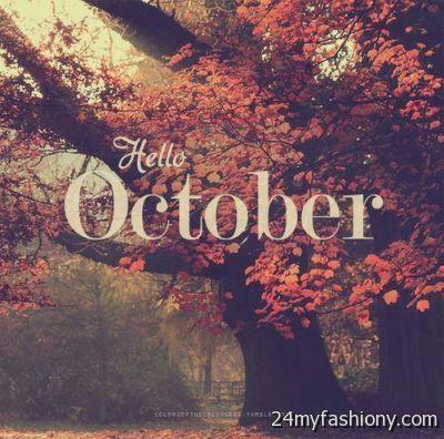 Hello October Tumblr images 2016-2017 | B2B Fashion