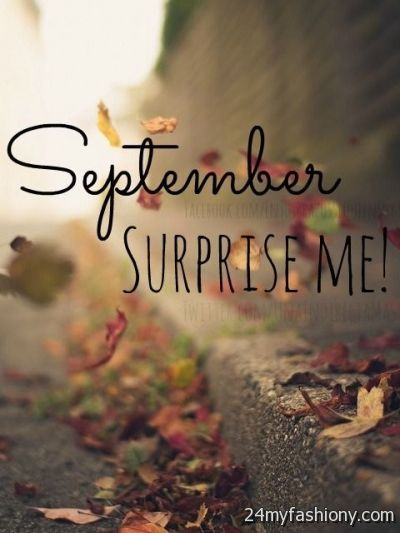 Hello September Surprise Me images 2016-2017  B2B Fashion