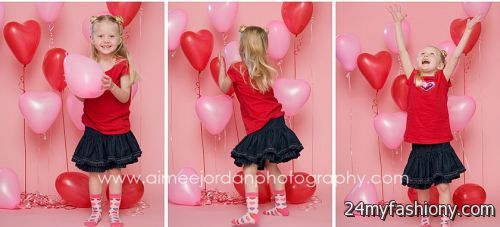 Kids Valentines Day Photoshoot Images Looks B2b Fashion