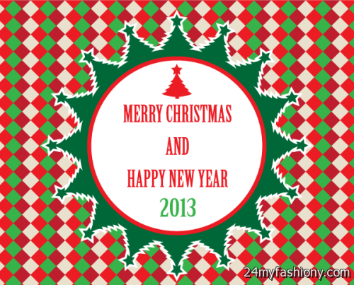 merry christmas and happy new year clip art free - photo #21