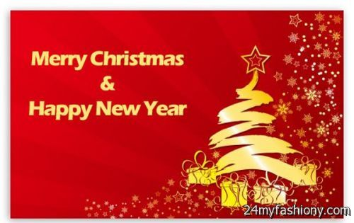You Can Share These Merry Christmas And Happy New Year Wallpaper 2018 19 On Facebook Stumble Upon My Space Linked In Google Plus