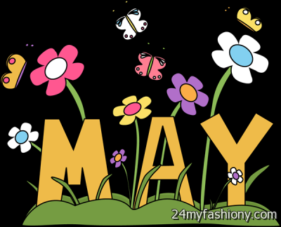 Month Of May Clipart