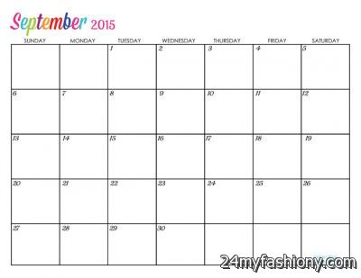 september 2015 calendar with holidays