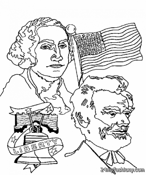 United states presidents sheets coloring pages for Presidents day coloring pages printable