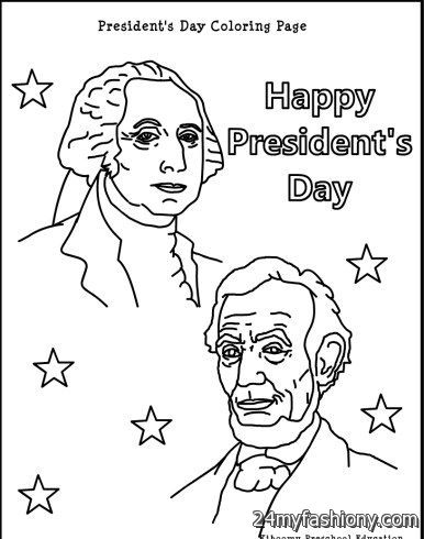 Presidents Day Coloring Pages images 2016-2017 | B2B Fashion