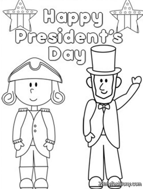 Presidents Day Coloring Pages images 2016 2017 B2B Fashion