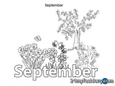 september coloring pages - September Coloring Pages