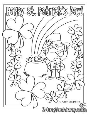 st patricks day 2016 coloring pages - St Patricks Day Coloring Pages