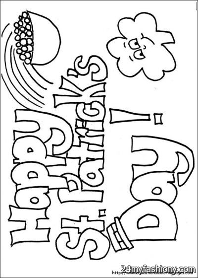 st patrick s day leprechaun coloring page - st patrick s day drawings images 2016 2017 b2b fashion