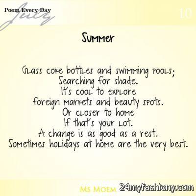 Summer Poems Images 2016 2017 B2b Fashion