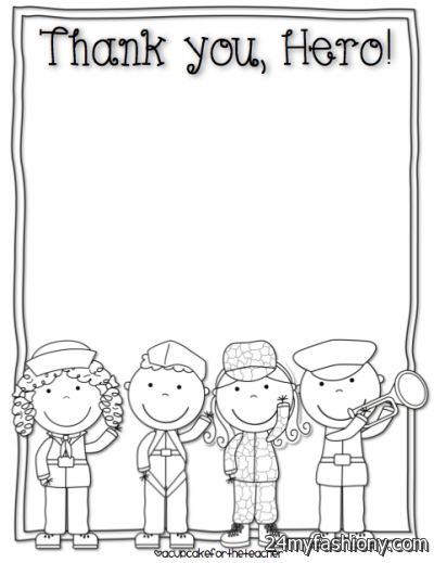 Veteran Thank You Coloring Pages Coloring Pages