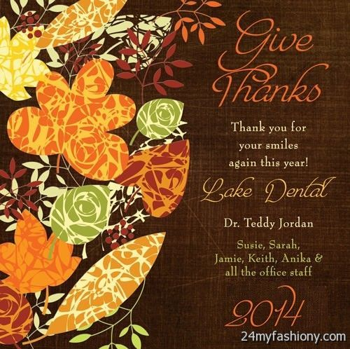 Thanksgiving Cards Images 2016-2017