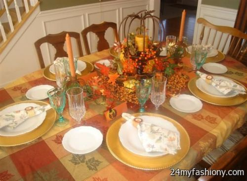 Thanksgiving Table Images 2016 2017 B2b Fashion