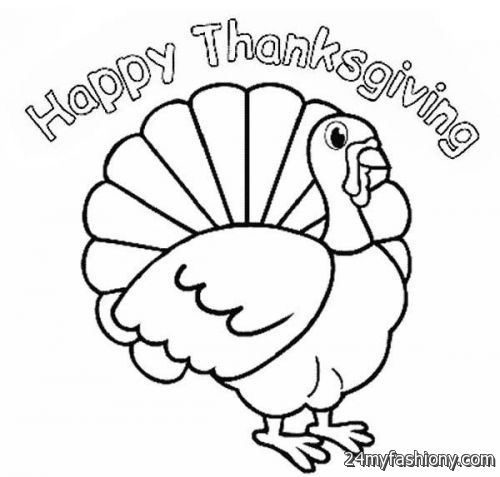 fun turkey coloring pages - photo#20