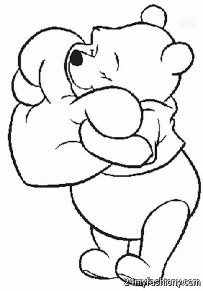 You Can Share These Valentines Day Bears Coloring Pages On Facebook Stumble Upon My Space Linked In Google Plus Twitter And All Social Networking