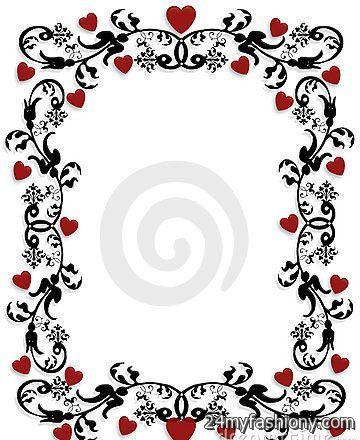 valentines day clip art borders images 20162017 b2b fashion