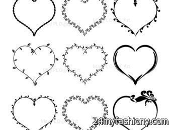 Valentines Day Clip Art For Kids Black And White images 2016-2017 ...
