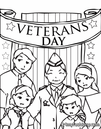 Veterans Day Coloring Pages For Kids images 2016-2017 ...