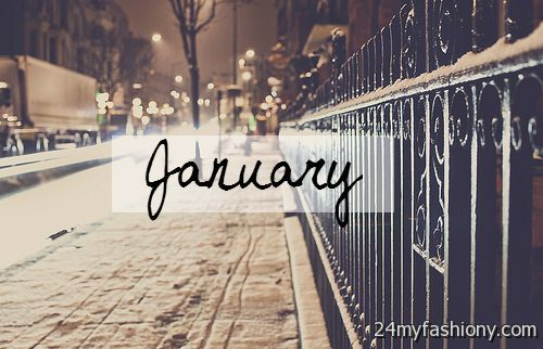 Welcome January Tumblr