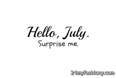 Amazing Welcome July Tumblr