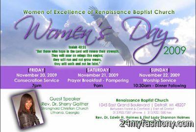 Womens Day Church images 2016-2017 | B2B Fashion