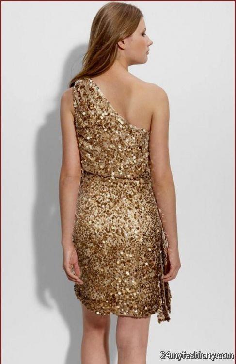 aidan mattox one shoulder sequin dress 2016-2017 » B2B Fashion