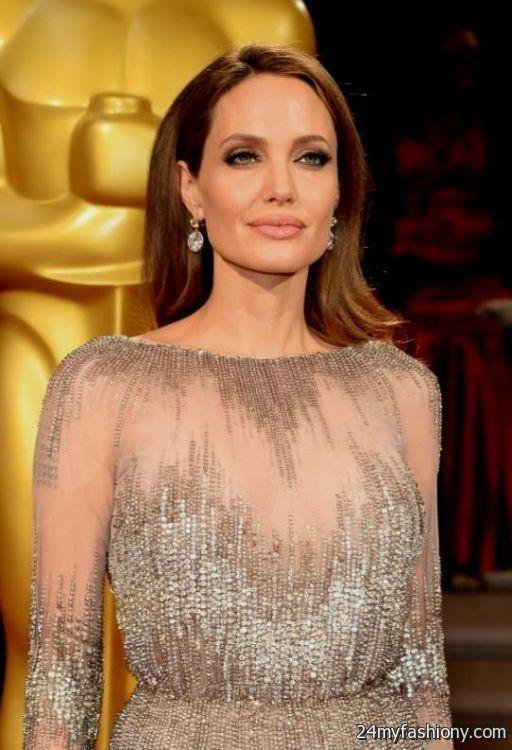 Angelina jolie red carpet dresses 2018