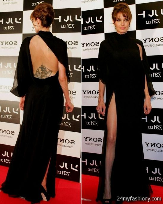 Angelina Jolie Dresses 2017 2018 B2B Fashion