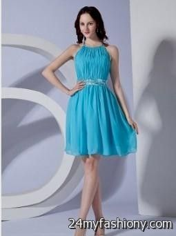 aqua blue dresses for juniors 2016-2017 » B2B Fashion