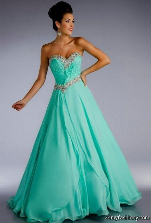 aqua green prom dress 2016-2017 | B2B Fashion