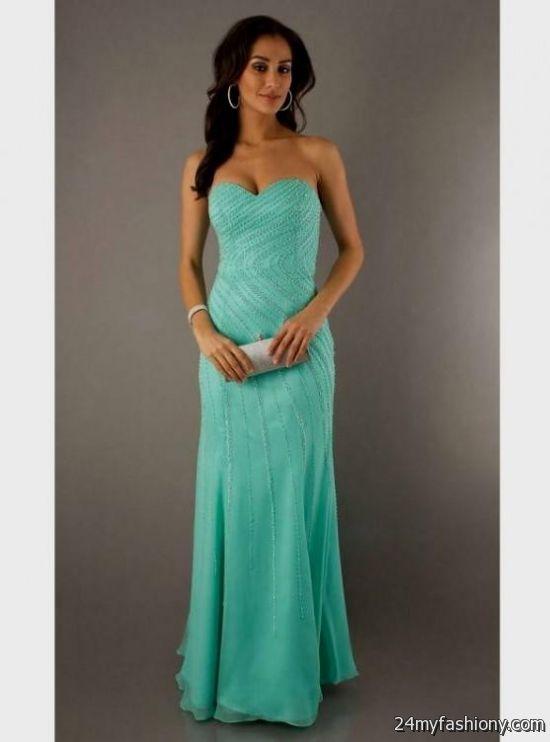 Aqua Green Prom Dresses - Homecoming Prom Dresses