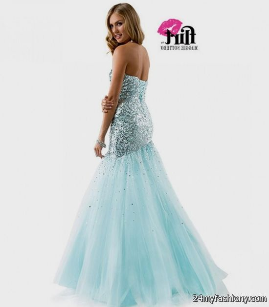 aqua sequin prom dress 2016-2017 » B2B Fashion