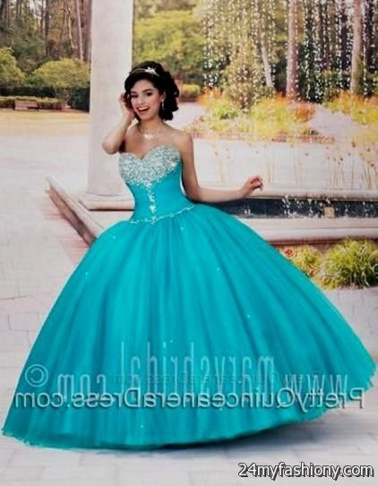 72dd59c6bd You can share these aquamarine quinceanera dresses on Facebook