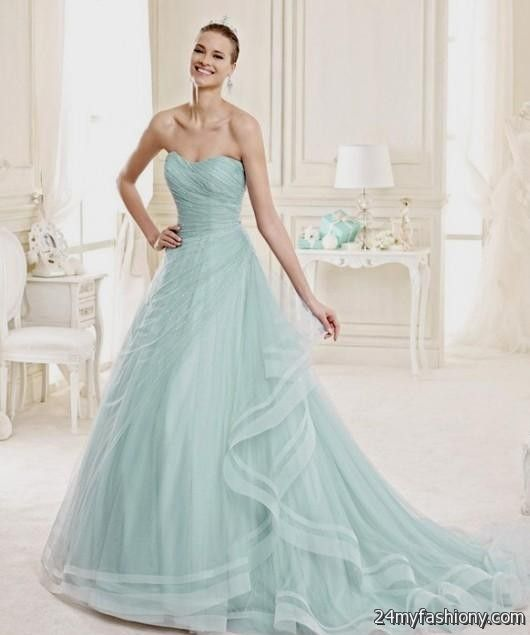 You Can Share These Aquamarine Wedding Dresses On Facebook Stumble Upon My E Linked In Google Plus Twitter And All Social Networking Sites