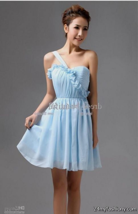 baby blue bridesmaid dresses 20162017 b2b fashion