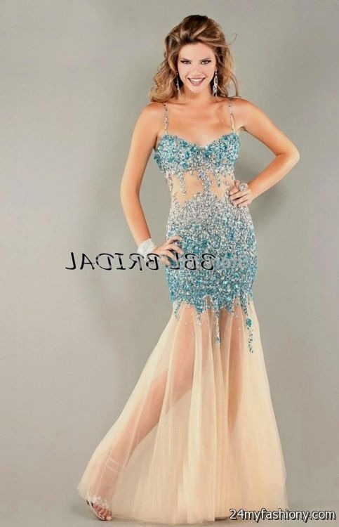 Baby Blue Fitted Prom Dresses 2016 2017 B2b Fashion