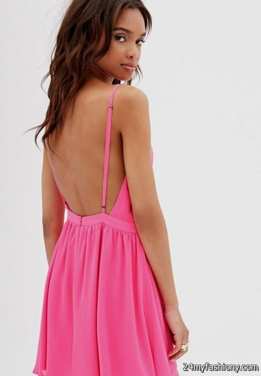 Images of Casual Backless Dress - Reikian