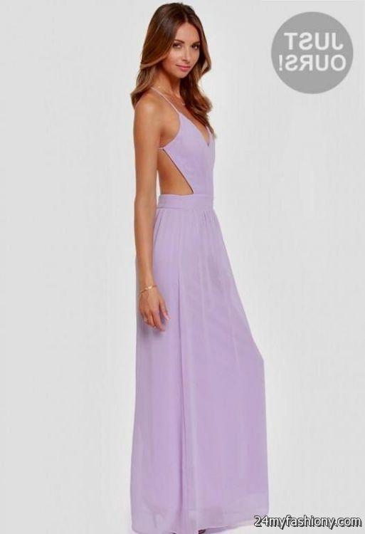 Lavender Maxi Dress Photo Album - Reikian