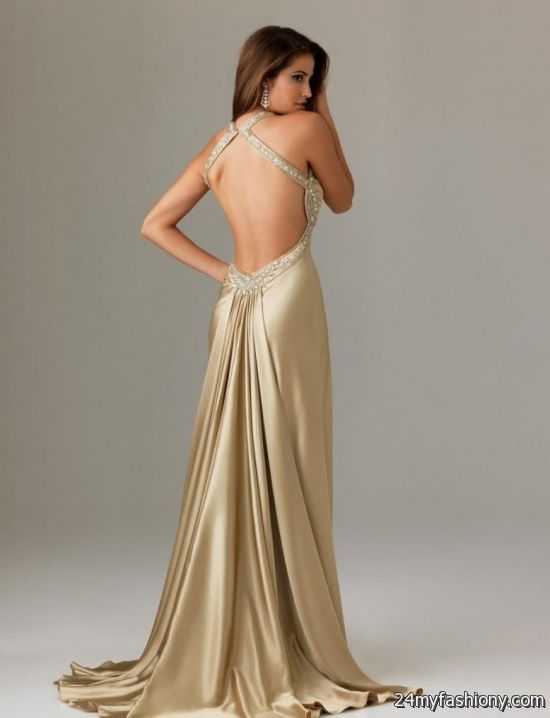 Backless Prom Dress Photo Album - Reikian