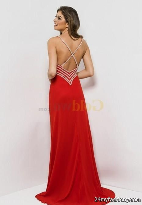 Collection Backless Red Dress Pictures - Klarosa