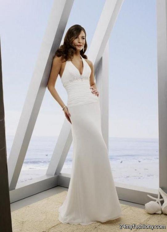 Beach Wedding Dresses 2017 Guest : Beach wedding dress halter b fashion