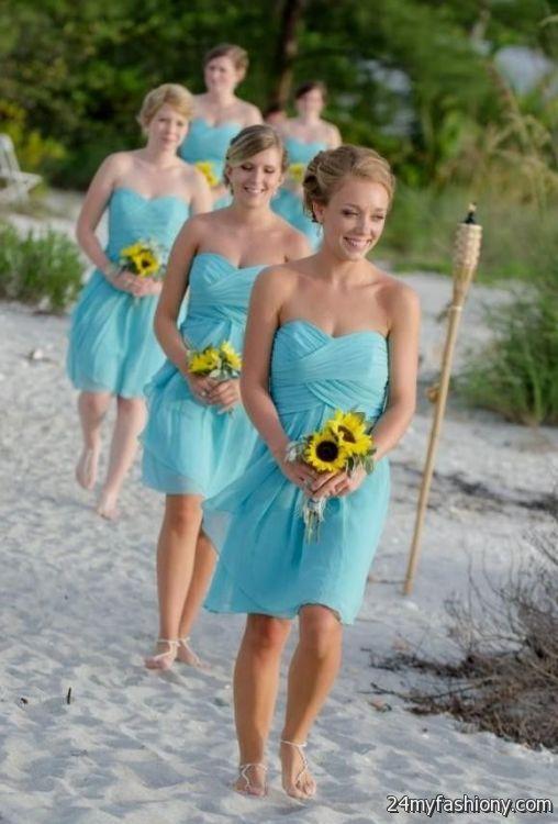 Beach Wedding Dresses For Bridesmaids Looks B2b Fashion