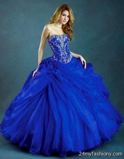 Prom dress miami blues
