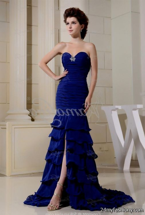beautiful blue wedding dresses 2016-2017 » B2B Fashion