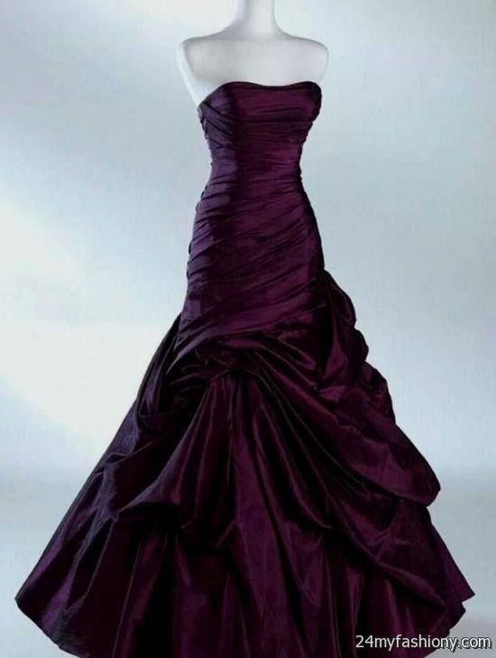 beautiful dark purple dresses 2016-2017 | B2B Fashion